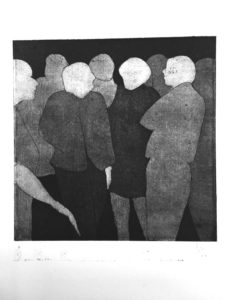 etching and aquatint Bertrand Rubli